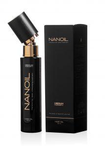 Olejek Nanoil - doskonały do regeneracji włosów